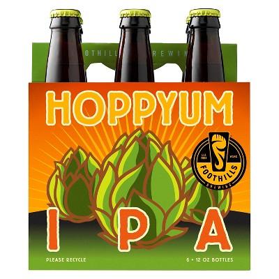 Foothills Hoppyum IPA Beer - 6pk/12 fl oz Bottles
