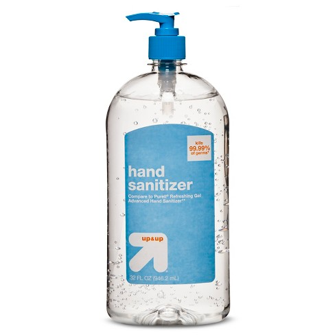 Hand Sanitizer - 32oz - Up&Up™ (Compare to Purell Refreshing Gel Advanced Hand Sanitizer) - image 1 of 1