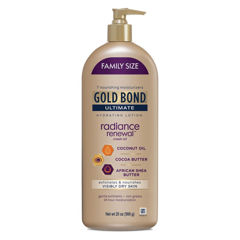 Gold Bond Radiance Renewal Hand And Body Lotions - 20oz