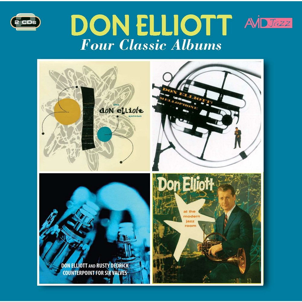 Don elliott - Quintet/Mellophone/Counterpoint/At th (CD)