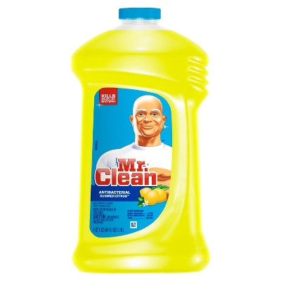 Multi-Surface Cleaner: Mr. Clean Antibacterial Multi-Surface Cleaner