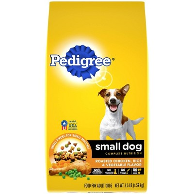 Pedigree Roasted Chicken, Rice & Vegetable Flavor Small Dog Adult Complete Nutrition Dry Dog Food