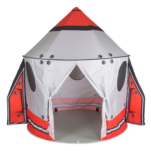 Pacific Play Tents Kids Classic Spaceship Peach Skin Play Pavilion With Wings - image 1 of 4