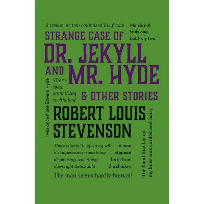 Strange Case of Dr. Jekyll and Mr. Hyde & Other Stories - (Word Cloud Classics) by  Robert Louis Stevenson (Paperback)