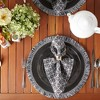 Round Fringed Placemat Set of 6 - image 3 of 4