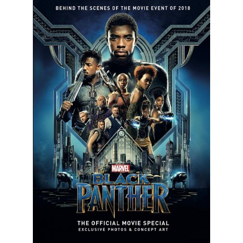Black Panther The Official Movie Special Hardcover Target