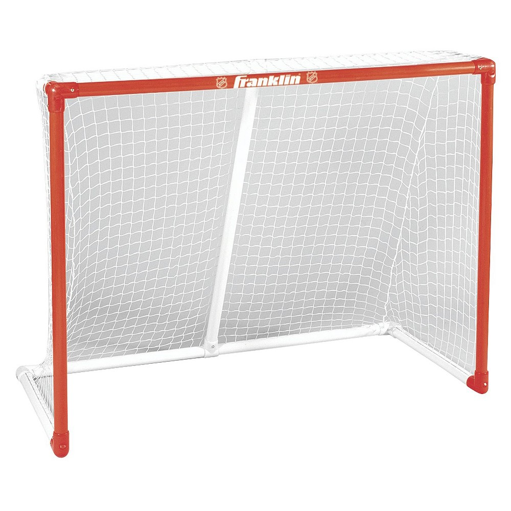 Franklin Sports NHL Innernet 54 x44  PVC Goal, Multi-Colored Get ready to score with the Franklin Sports 54  Innernet PVC Goal. Transform any patch of pavement to a place to practice with a hockey net that is just the right size to work on your wicked slap shots. This street hockey goal is ideal for practice or for an epic pickup game. 26x54x44  (LxWxH). 90 day limited manufacturer warranty. Color: Multi-Colored. Age Group: Adult.
