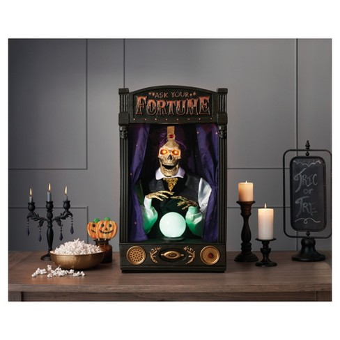 Halloween Fortune Teller Animatronic.Halloween Skeleton Fortune Teller Hyde Eek Boutique