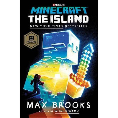 Minecraft the Island -  by Max Brooks (Hardcover)