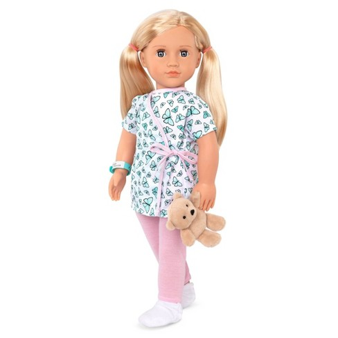 """Our Generation 18"""" Hospital Doll with Gown - Evely - image 1 of 3"""