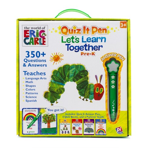 The World of Eric Carle Quiz It Pen: Let's Learn Together Boxed Set - image 1 of 9