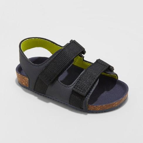 Toddler Boys' Keenan Footbed Sandals - Cat & Jack™ Navy - image 1 of 3