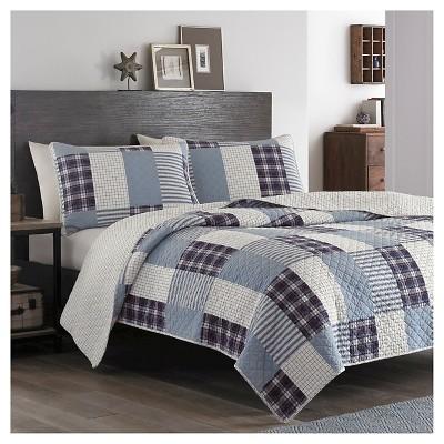 Camano Island Quilt And Sham Set Plum - Eddie Bauer®