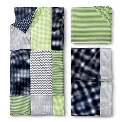 Trend Lab 3pc Crib Bedding Set – Perfectly Preppy