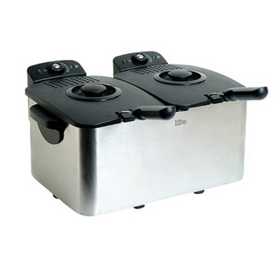 Elite Platinum 8-qt. Dual-Basket Deep Fryer - EDF4080