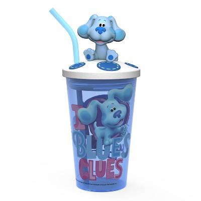 Blue's Clues 15oz Plastic Funtastic Kids Tumbler - Zak Designs