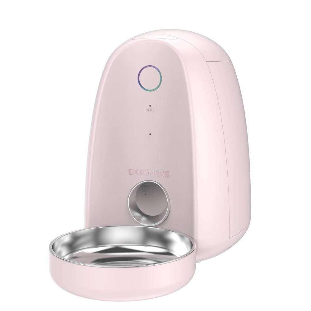 Dogness Mini App Automated Pet Feeder - Pink