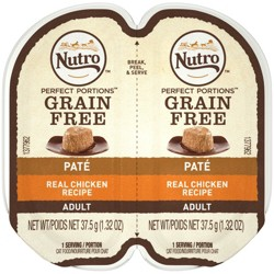 Nutro Grain Free Pate Chicken Recipe Adult Wet Cat Food - 1ct