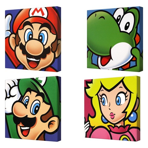 Nintendo Wall Sign Panels .47 X 6 X 6 Nintendo - image 1 of 1