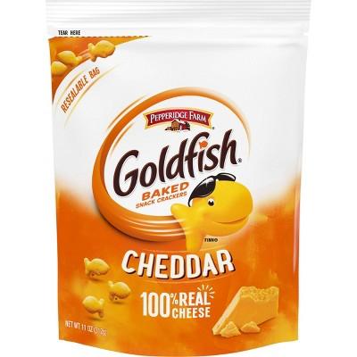 Pepperidge Farm Goldfish Cheddar Crackers - 11oz Re-sealable Bag