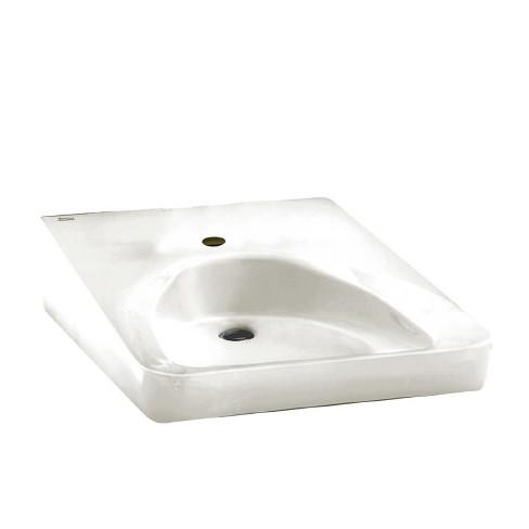 "American Standard 9140.047 Wheelchair 20"" Wall Mounted Porcelain Bathroom Sink - image 1 of 1"