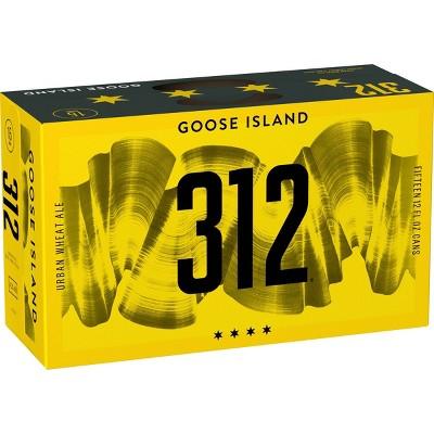 Goose Island 312 Urban Wheat Ale Beer - 15pk/12 fl oz Cans