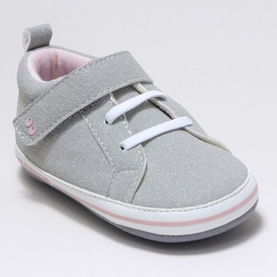 Baby Girls' Surprize by Stride Rite Heather Sneaker Mini Shoes - Grey 6-12M