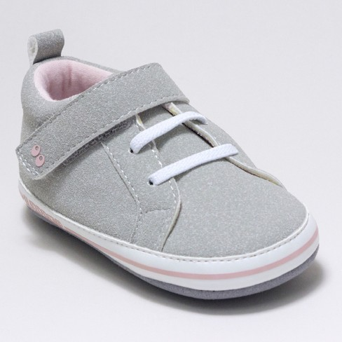 Baby Girls' Surprize by Stride Rite® Heather Sneaker Mini Shoes - Grey - image 1 of 4