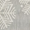 "Holiday Rectangle 30""x50"" Outdoor Rug - Gray Snowflake - Threshold™ - image 4 of 4"