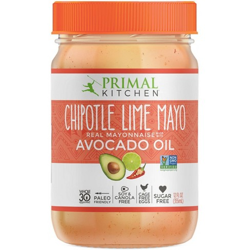 Primal Kitchen Chipotle Lime Mayo with Avocado Oil - 12oz - image 1 of 4