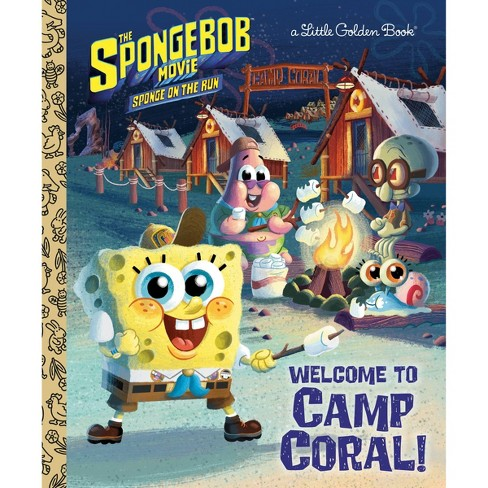 Spongebob Movie Little Golden Book (Spongebob Squarepants) - by David Lewman (Hardcover) - image 1 of 1