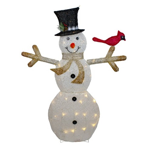 Northlight 49 Led Lighted Snowman With