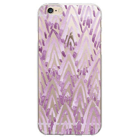 OTM Artist Prints Clear Phone Case, Arrowhead Violet - iPhone 6 - image 1 of 1