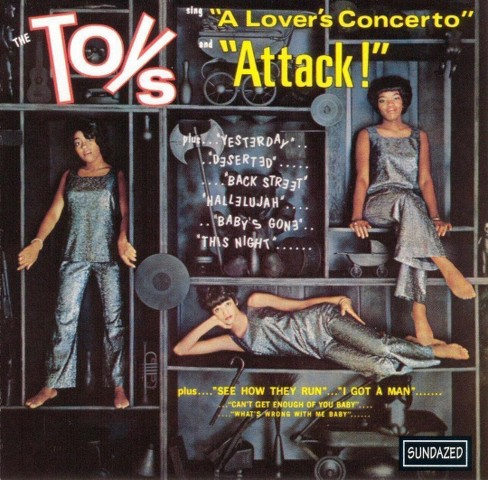Toys - Lovers concerto/Attack! (CD) - image 1 of 1