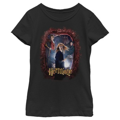 Girl's Harry Potter Hermione Secrets Frame T-Shirt
