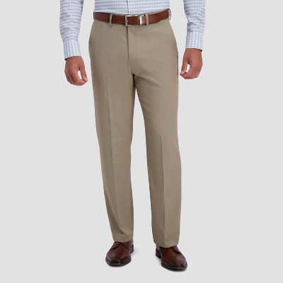 Haggar H26 Men's Premium Stretch Classic Fit Dress Pants