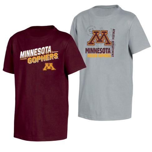 Team Color Youth NCAA Minnesota Golden Gophers Short Sleeve Tee Shirt