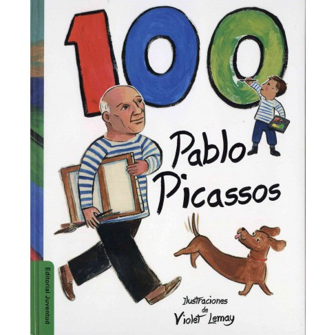 100 Pablo Picassos (Hardcover) - image 1 of 1
