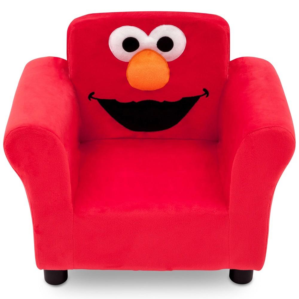 Sesame Street Elmo Upholstered Chair, Multi-Colored