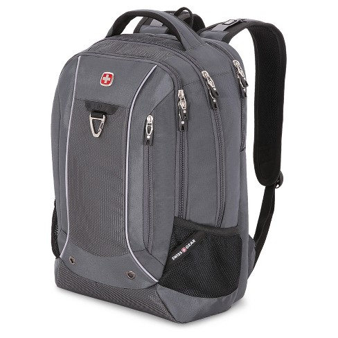 "SwissGear® 18.5"" Scan Smart TSA Laptop Backpack - Gray - image 1 of 7"