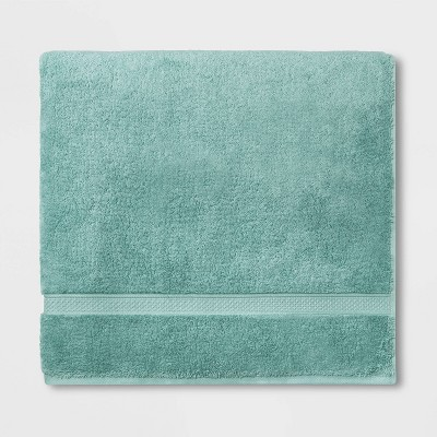 Soft Solid Bath Sheet Dusty Jade - Opalhouse™