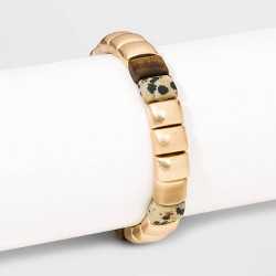 Semi-Precious Stones Stretch Bracelet - Universal Thread™