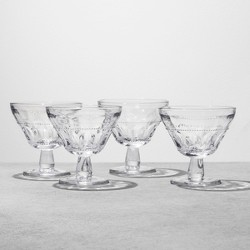 4pk Dessert Bowl Glass - Clear - Hearth & Hand™ with Magnolia