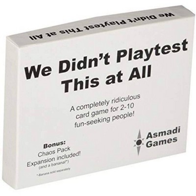 We Didnt Playtest This at All Game (With Chaos Pack)