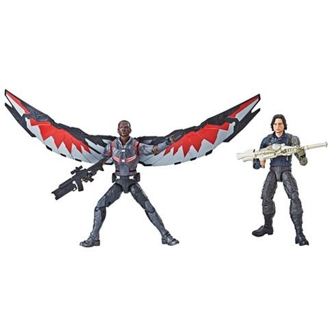 marvel legends series avengers infinity war winter soldier falcon