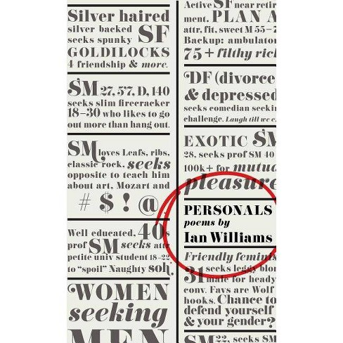 Personals - by  Ian Williams (Paperback) - image 1 of 1