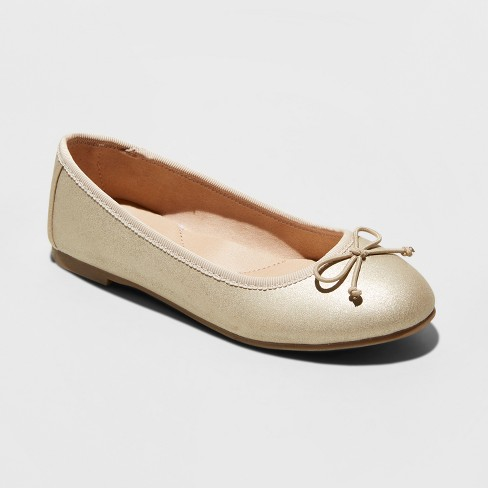 Girls' Stacy Ballet Flats - Cat & Jack™ - image 1 of 4