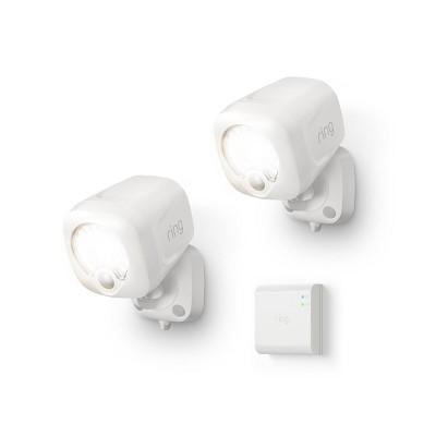 2pk Smart Lighting Spotlight with Bridge - Ring