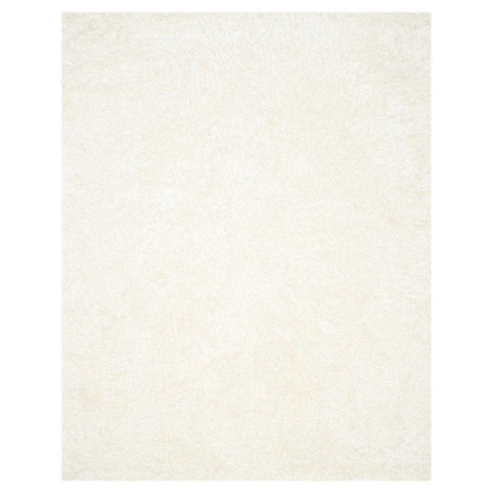 White Solid Tufted Area Rug - (8'6X12') - Safavieh