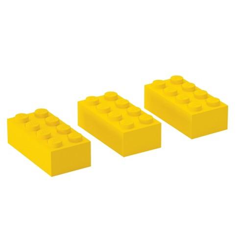 LEGO 3pk Brick Erasers - image 1 of 2